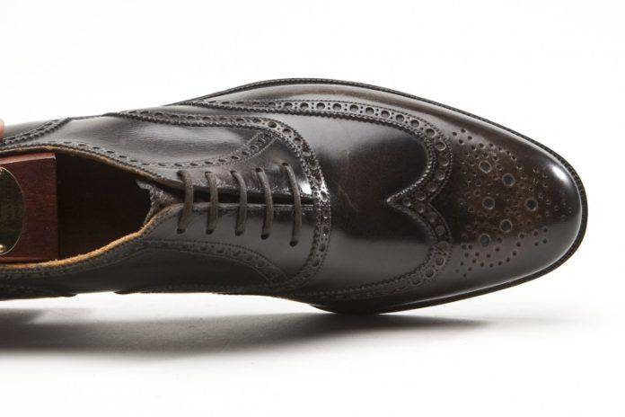 Модель кожаных ботинок броги - Stone Forest