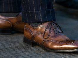 ботинки броги - Stone Forest