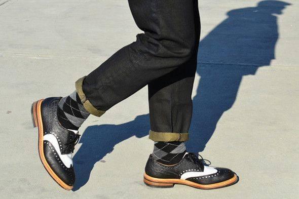 Обувь броги - Stone Forest