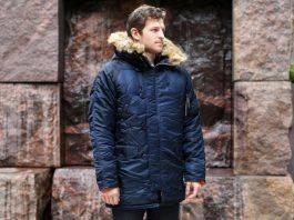Модель куртки N3B Snorkel Parka - Stone Forest