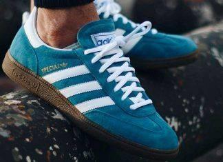 кроссовки Adidas Spezial - Stone Forest