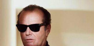 Джек Николсон в очках Ray Ban Wayfarer