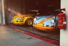 Гараж гоночных автомобилей - Stone Forest