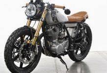 Yamaha SR500 'Bruto' - Stone Forest