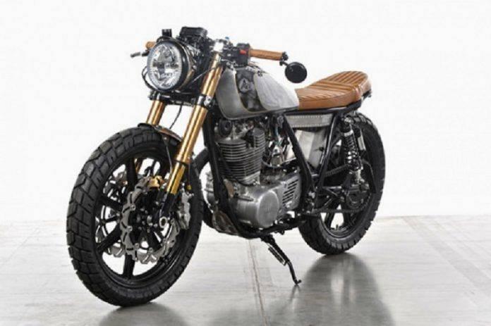 Модель мотоцикла Yamaha SR500 'Bruto' - Stone Forest