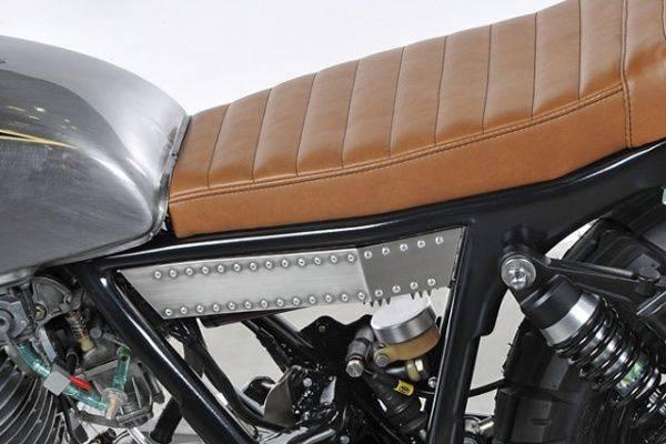 Мотоцикл Yamaha SR500 Bruto - Stone Forest