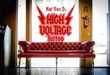 Салон High Voltage Tattoo - Stone Forest