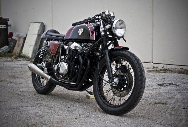 Custom Honda CB750 Mabel - Stone Forest