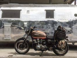 Мото Honda CB750 - Stone Forest