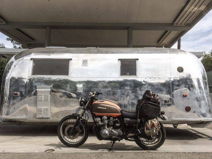 Модель мотоцикла Honda CB750 'Mabel' 1978 - Stone Forest