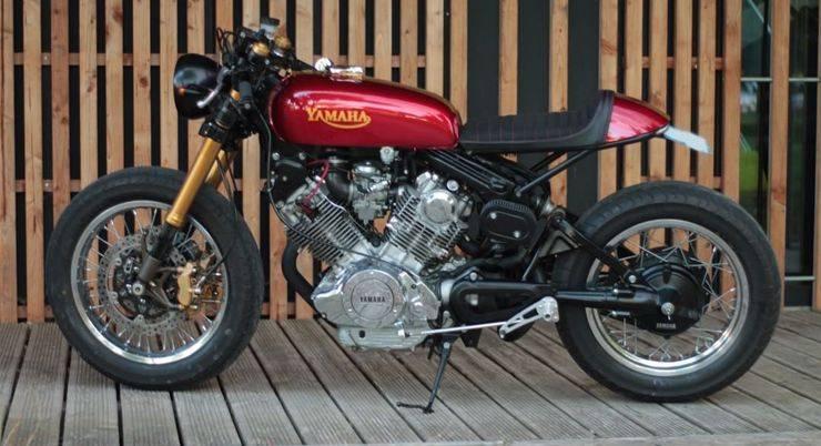 Модель Yamaha XV750 Virago - Stone Forest
