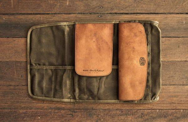 Аксессуары Deus Ex Machina x MAKR CARRY GOODS Tool Roll - Stone Forest