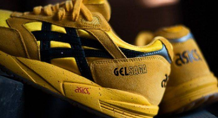 ASICS Gel Saga II Kill Bill - Stone Forest