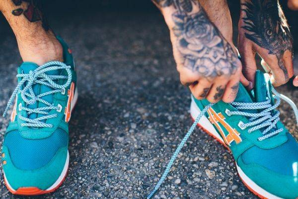 Ronnie Fieg x Asics Gel Lyte III East Coast Project - Stone Forest