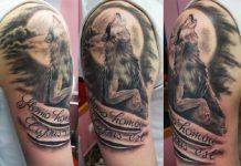 Татуировка волка - Stone Forest