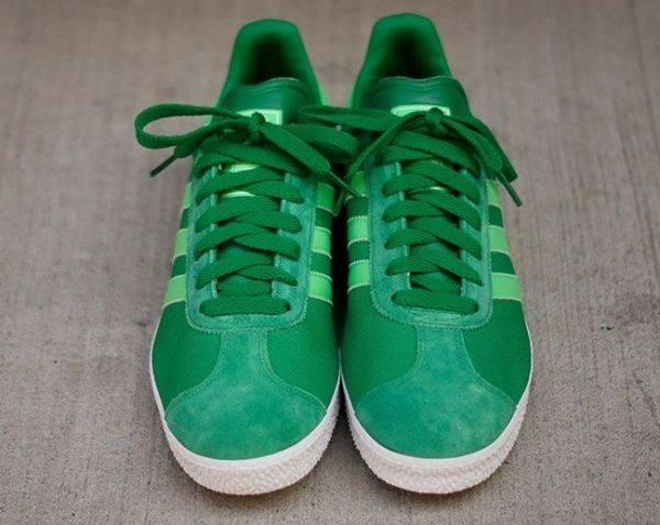 Adidas Gazelle Green - Stone Forest