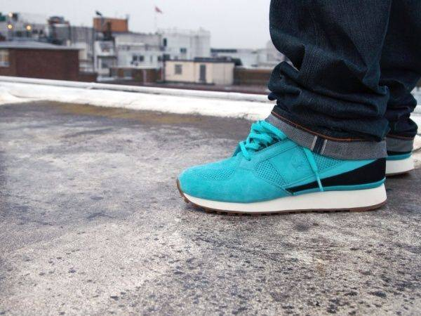 Foot Patrol x Le Coq Sportif - Stone Forest