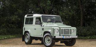 Модель автомобиля Land Rover Defender 90 - Stone Forest