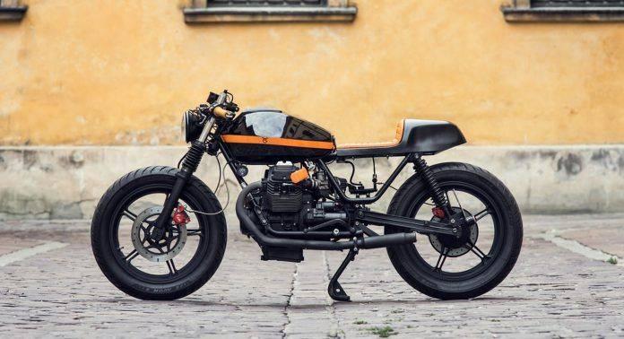 Moto Guzzi V65 'Mondego' - Stone Forest