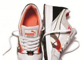 Белые кроссовки Puma - Stone Forest