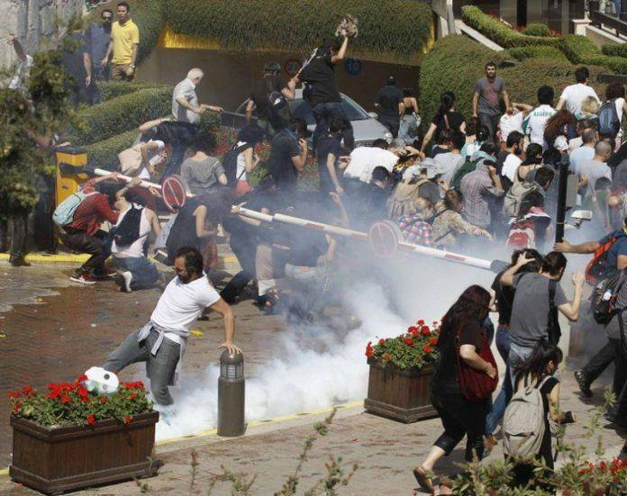 Беспорядки в Стамбуле - Stone Forest