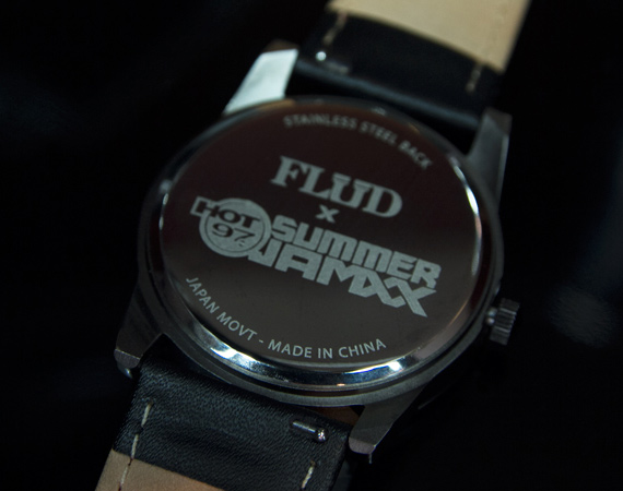 Hot97 X Flud Watches - Stone Forest