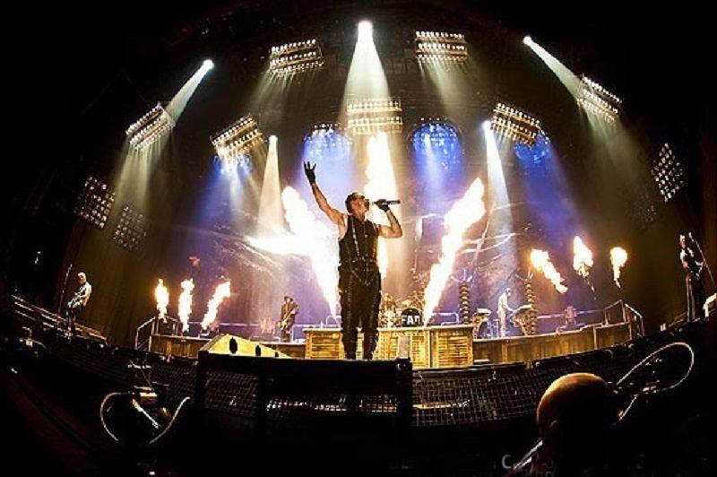 Солист группы Rammstein - Stone Forest