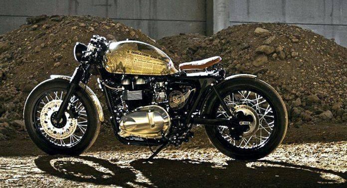 Мотоцикл Triumph Thruxton 'Queen Elizabeth Coronation' - Stone Forest