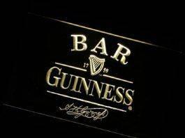 Guinness Bar Logo - Stone Forest