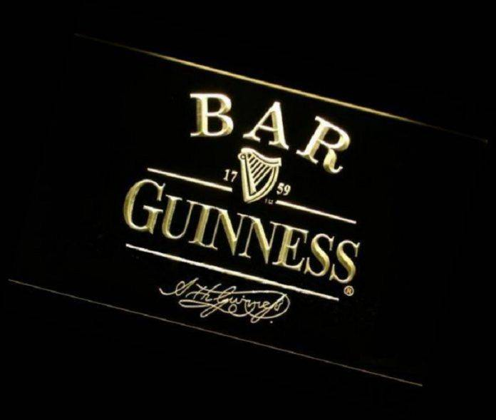 Guinness Bar Logo - Stone Forest