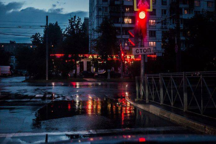 Проливной дождь в Москве - Stone Forest