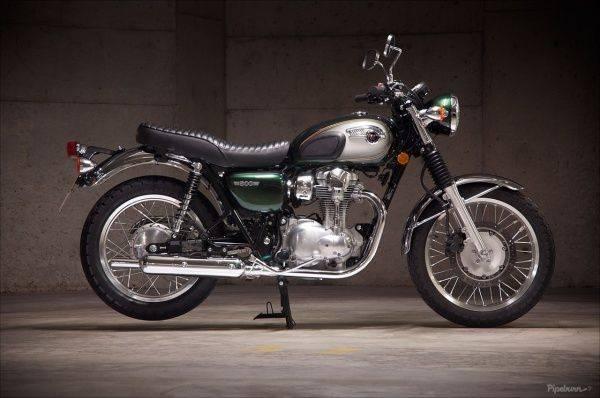 Kawasaki W 800 - Stone Forest
