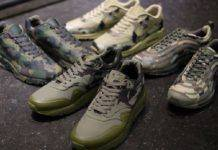 Кроссовки Nike Air Max Camouflage - Stone Forest