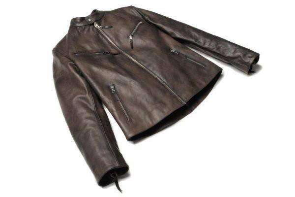 S.E.B. Motorcycle Jacket - Stone Forest