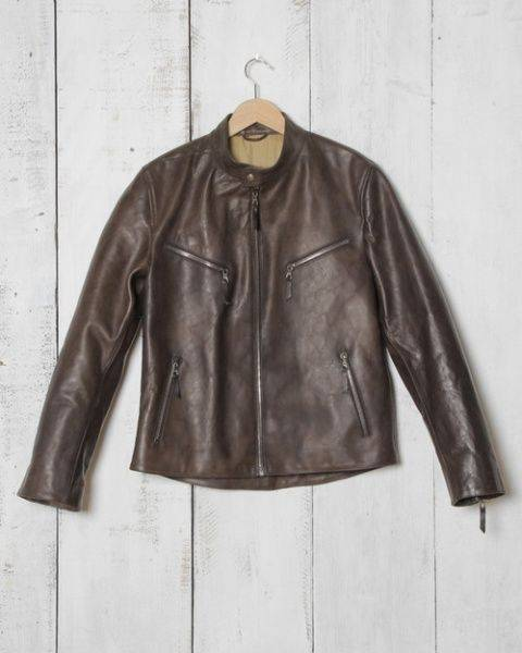 S.E.B. Motorcycle Jacket - Stone Forest