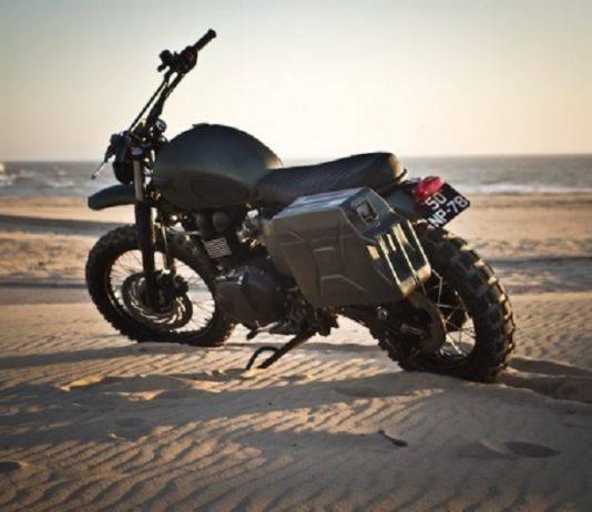 Мотоцикл Triumph Scrambler - Stone Forest