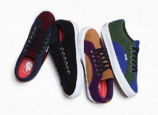 Кеды Supreme x Vans Lampin Capsule Collection - Stone Forest