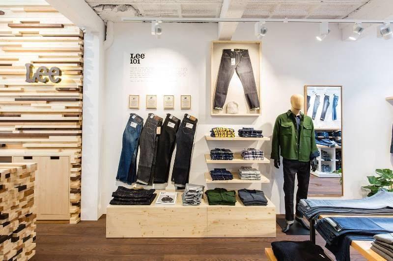 Магазин Lee Jeans - Каменный лес Stone Forest