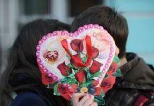 Влюбленные на День Святого Валентина - Stone Forest