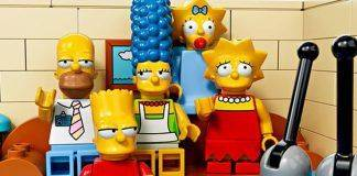 The Simpsons в наборе Lego - Stone Forest