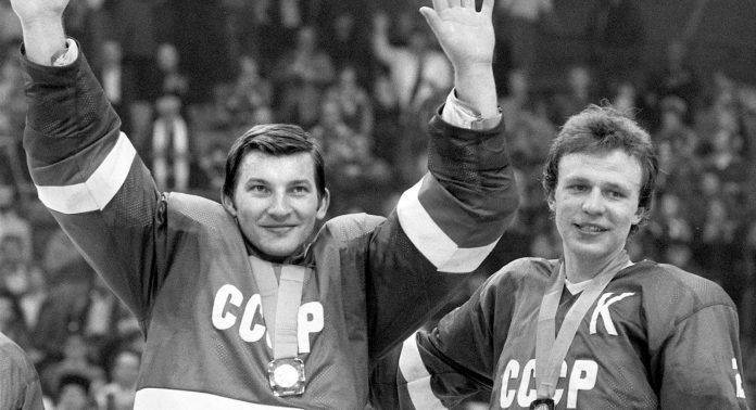 Фотография Третьяка и Фетисова в сборной СССР - Stone Forest