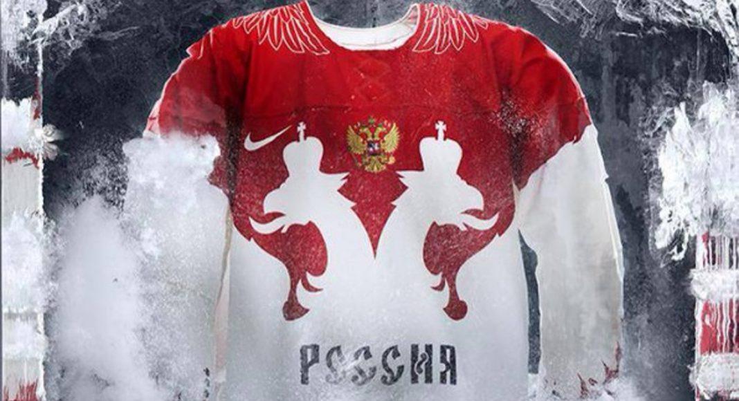 Форма сборной России по хоккею - Stone Forest