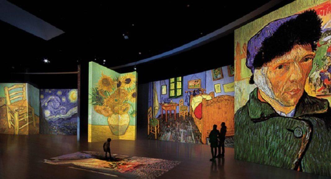 Ожившие полотна Винсента ан Гога в Artplay - Каменный лес Stone Forest
