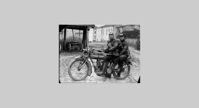 Первые русские мотоциклы - Каменный лес Stone Forest
