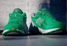 New Balance 990 St Patricks Day - Stone Forest