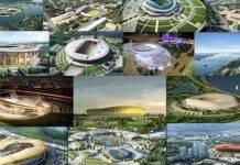 Российские стадионы в России к чемпионату мира 2018 - Каменный лес Stone Forest