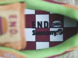"""END. x Saucony Shadow 5000 """"Burger"""" - Stone Forest"""
