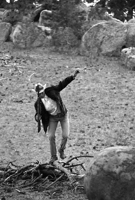 Стив МакКуин на фото - Stone Forest
