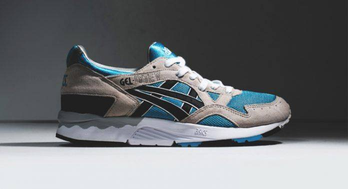 ASICS Gel Lyte V Atomic Blue/Black - Stone Forest