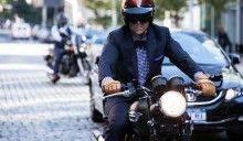 Мото-забег Почтенных джентльменов в Нью-Йорке